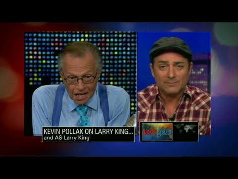 CNN: Kevin Pollak pokes fun at Larry King