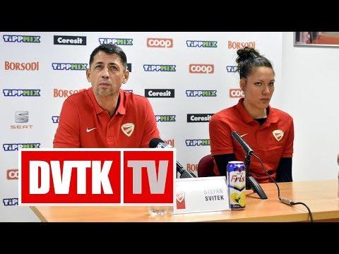 Sajtótájékoztató a Carolo Basket - Aluinvent DVTK Európa Kupa mérkőzés előtt