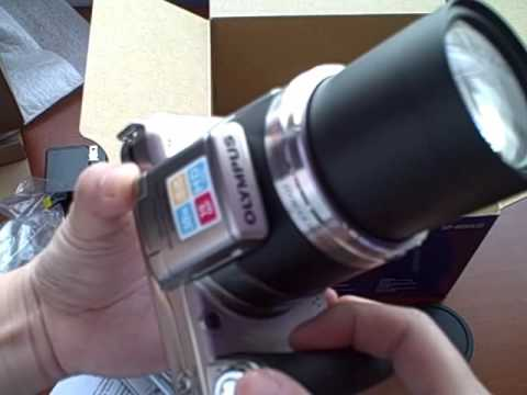 Unboxing Olympus SP 800UZ Camera