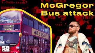 Video The Full Story Behind Conor McGregor's Wild Bus Attack MP3, 3GP, MP4, WEBM, AVI, FLV Desember 2018