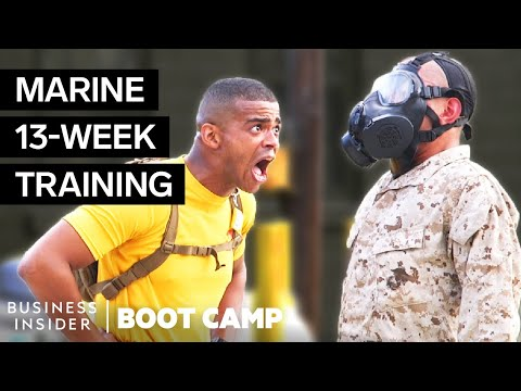 What New Marine Corps Recruits Go Through In Boot Camp
