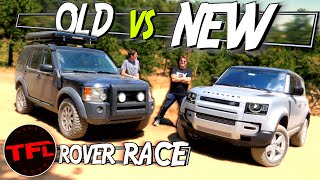 How Does The 2020 Land Rover Defender Perform Off-Road? I Race it Against an Old One To Find Out! by The Fast Lane Car
