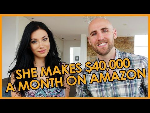 She Makes 40,000 Per Month on Amazon at 23 Years Old