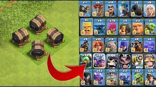 Video GIANT CANNON Vs ALL TROOPS - clash of clans private server.... MP3, 3GP, MP4, WEBM, AVI, FLV Februari 2018