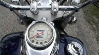 7. 2004 Yamaha V Star 650 classic 0-70mph & country cruise