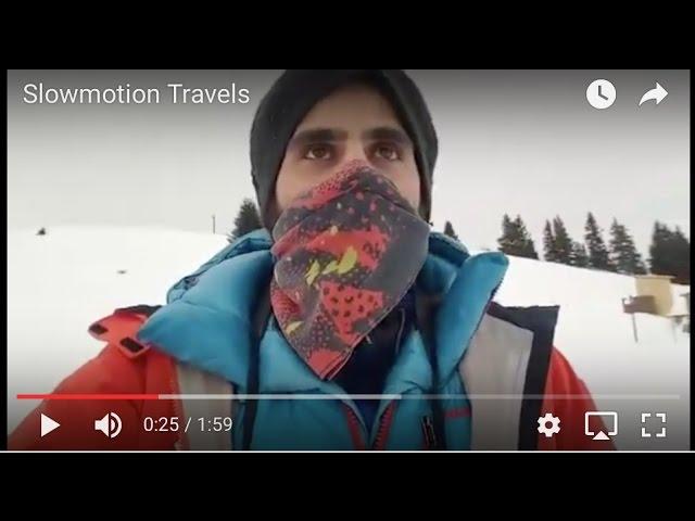 direttamente dalle alpi svizzere  - Fotografare sotto zero