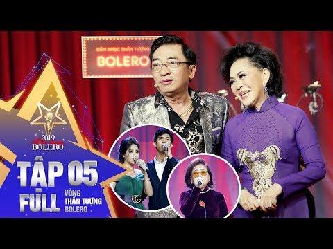 Thần Tượng Bolero 2019 | Tập 5 Full: Đầy cảm xúc với đêm nhạc Sầu Muộn của đội Giao Linh - Đình Văn - Thời lượng: 1:01:45.