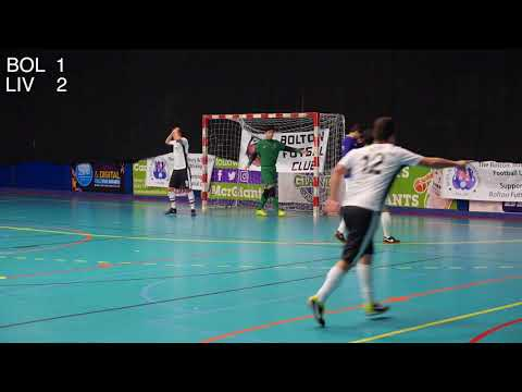 Bolton Futsal Club Vs Liverpool Futsal Club Friendly 18th February 2018 Match Highlights