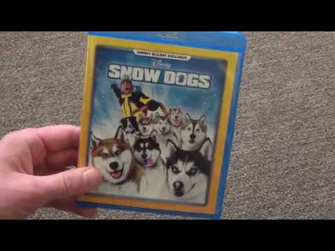 Disney's Snow Dogs Blu-Ray Unboxing