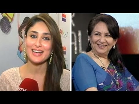 KAREENA - Veteran actress Sharmila Tagore in conversation with NDTV talks about her son Saif Ali Khan and his wedding. Also, her daughter-in-law Kareena Kapoor makes a...