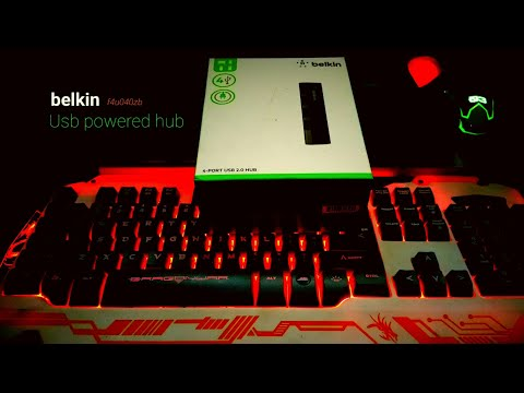 Belkin Powered Hub (Unboxing and Overview)