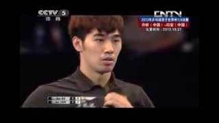 Table Tennis Highlights, Video - 2013 Men's World Cup (ms-qf) XU Xin -YAN An [Full match/chinese]