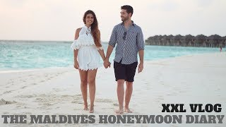 Video THE MALDIVES XXL VLOG I WATER BUNGALOW TOUR I HONEYMOON TRAVEL DIARY I ALEYASMINE MP3, 3GP, MP4, WEBM, AVI, FLV Februari 2018