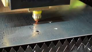 Aluminum Cutting with Polaris Fiber Laser