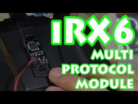 IRangeX iRX6 multiprotocole TX Module pour Flysky FS-i6 i6x émetteur