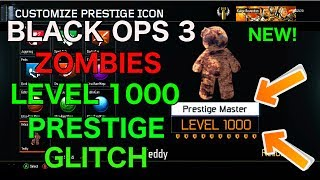 ♔SUBSCRIBE! for the FRESHEST! B03 Zombies Videos!♔Support the video by spending 1 second clicking the 'Like' Button!Thanks :)FOR ★VIP★ ACCESS TO ALL MY GLITCH VIDEOS LIKE! MY FACEBOOK PAGE!http://www.facebook.com/applemasteredThis is the fastest method to achieve master prestige in black ops 3 zombies this is an old method and i do not claim to be the founder enjoy !