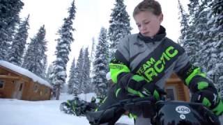 7. Arctic cat 2018 ZR 200 Youth Snowmobile