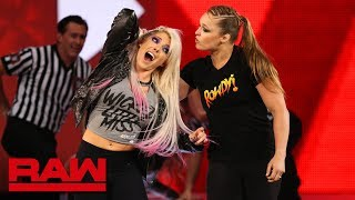 Nonton Ronda Rousey Violates Suspension To Brutalize Alexa Bliss  Raw  July 16  2018 Film Subtitle Indonesia Streaming Movie Download