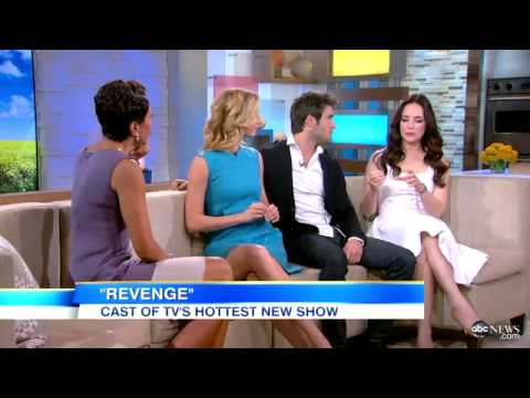 revenge - REVENGE cast members Emily Vancamp, Josh Bowman and Madeleine Stowe chat about the show (May 2012).