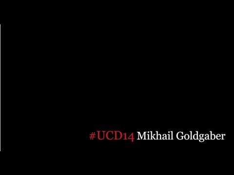 UCD CONFERENCE 24/25th October 2014