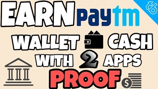 Earn unlimited free PayTM cash with payment transfer proof 100% working hello friends ajj ki iss video main ajj main 2 apps kay bare main btayou200b ga JIS say a...