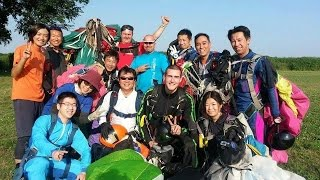 Fujioka Japan  City pictures : Welcome to Skydive Fujioka Japan for Switzerland Jumper スイスから来たジャンパーと8wayに挑戦!