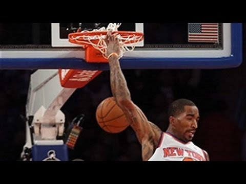 oop - Prepare to be amazed by J.R. Smith's mid-air acrobatics as he throws down a reverse alley-oop from Pablo Prigioni. Visit nba.com/video for more highlights.