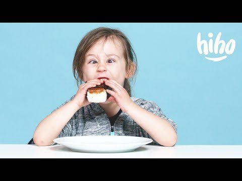 Kids Try Hawaiian Food