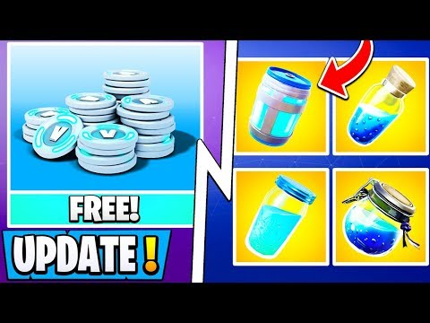 *NEW* Fortnite Update! | 5 X 2000 Free Vbucks, 9.40 Early Changes, Season 10!