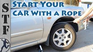 Ciekawy patent! Jak uruchomić samemu auto, kiedy padł Ci akumulator!