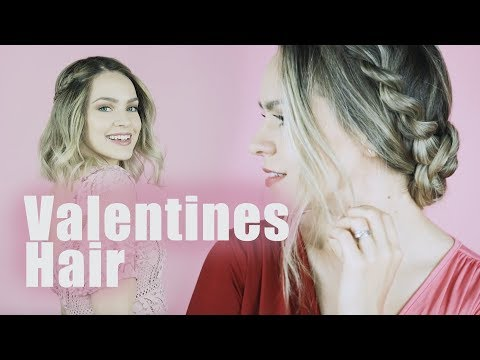 Short hair styles - Valentines Day Hairstyles for Long and Short Hair!! - KayleyMelissa