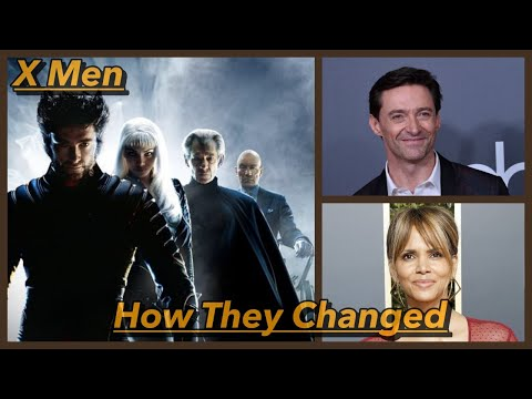 X Men ( 2000 )  🎞 THEN AND NOW 2020