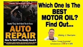 What Is The Best Motor Oil Synthetic Synthetic Blend