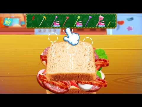 School Lunch Food Maker | Super Fun Food-Making | Cooking Games For Girls & Kids