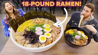 Video I Challenged My Friend To Eat An 18½-Pound Bowl Of Ramen • Giant Food Time MP3, 3GP, MP4, WEBM, AVI, FLV Juli 2019