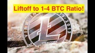 Litecoin Starts Move to 1-4 BTC/LTC Ratio! (Bix Weir)