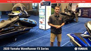 3. 2020 Yamaha WaveRunner FX Series Walk Around Details