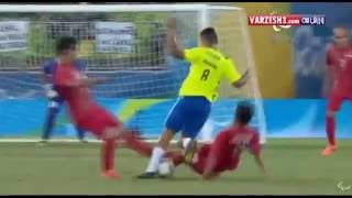 Iran Vs. Brazil | Football 7-a-side highlights | Rio 2016 Paralympic Games