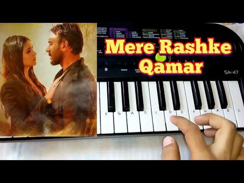 Mere Rashke Qamar cover song + Tutorial on Paino(Casio Sa 47) by Madan Mali