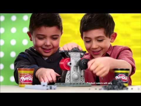 """Игровой набор Play-Doh для лепки """"Строительные наборы"""""""