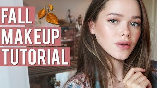 EASY FALL MAKEUP TUTORIAL   ft. Charlotte Tilbury Pillow Talk Collection