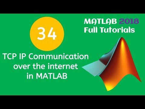 34 MATLAB Beginners Tutorial- TCP IP Communication over the internet in MATLAB