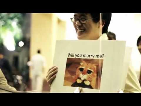意想不到的求婚驚喜,據說還沒有女性抵擋得住!
