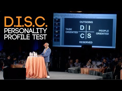 Chris Record - D.I.S.C. PERSONALITY PROFILE TYPES & TRAINING