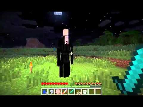Minecraft: Slender Mod! - SCARY AS POOP :O - Uberagon