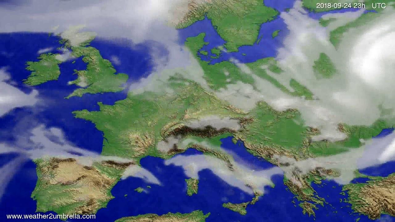 Cloud forecast Europe 2018-09-21