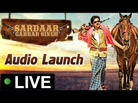 Sardaar Gabbar Singh Audio Launch Live - Pawan Kalyan | Kajal Aggarwal | DSP