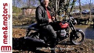 10. 2003 Moto Guzzi V11 Sport Review
