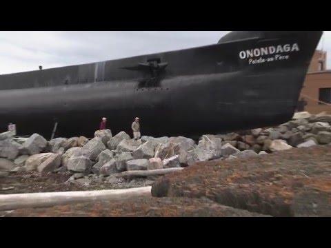 """L'expérience """"Nuit à Bord"""" du sous-marin - Reportage"""
