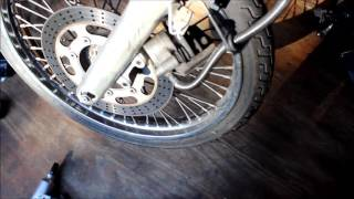 9. Vulcan 800 Front Tire Replacement